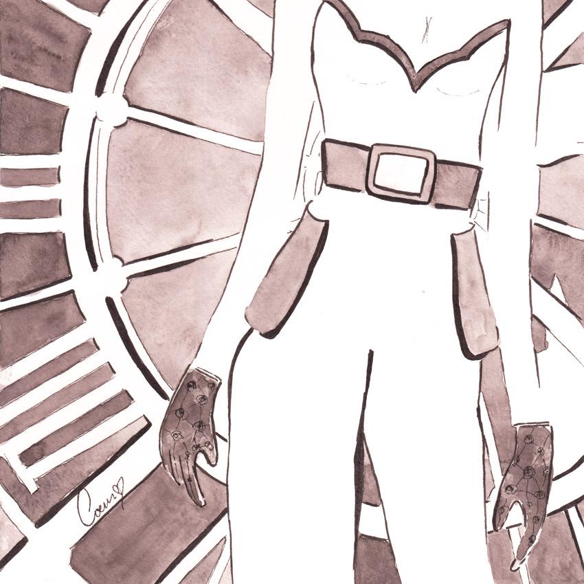 Reimagined Superwoman Overalls